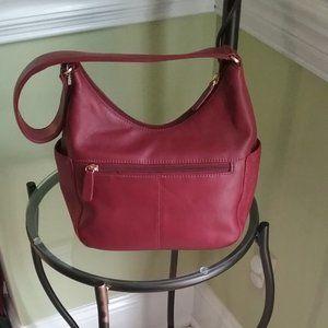 St. John's Bay Bags - St. John's Bay Leather Hobo Shoulder Bag